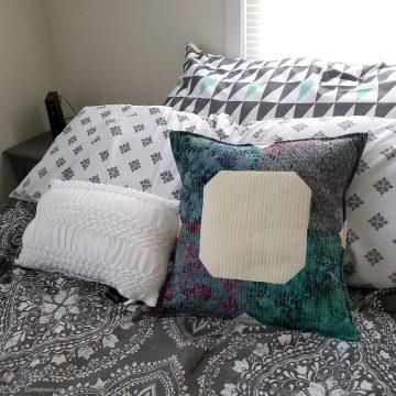 Morning Glory pillow