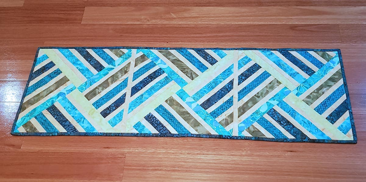 Sue shares her Jewel table runner