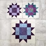 Maple Star quilt block tutorial