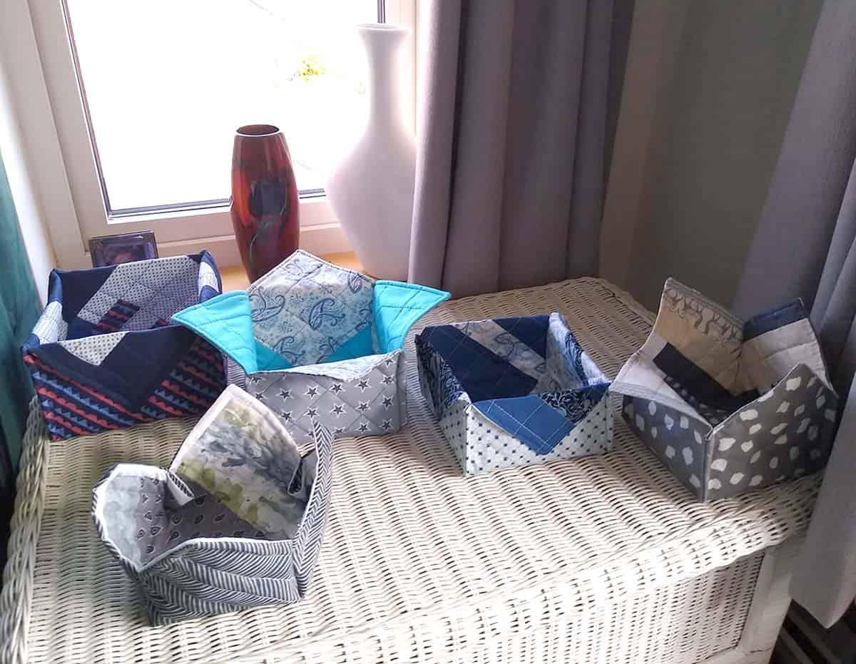 Suzanne fabric baskets