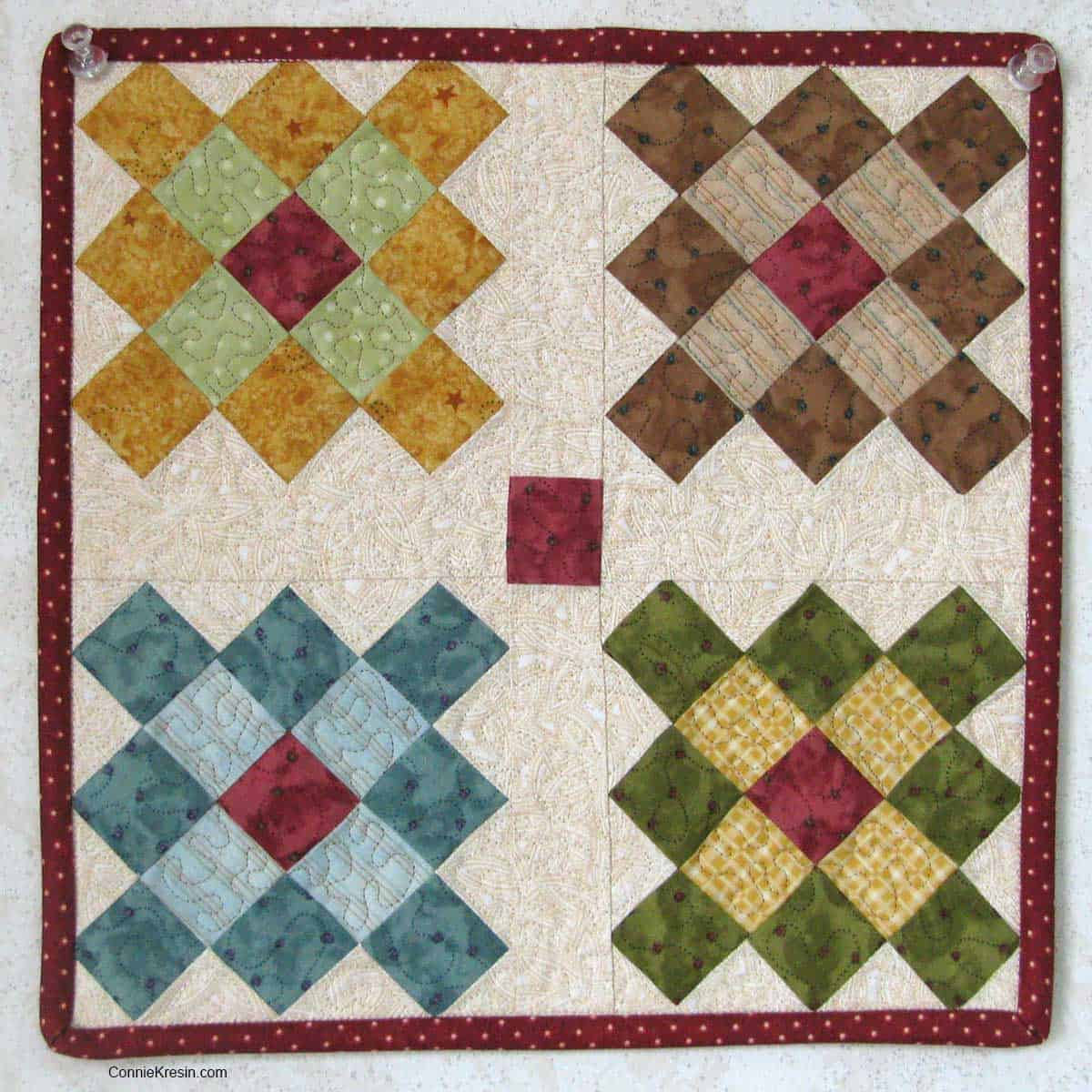 Mini Granny Square quilt