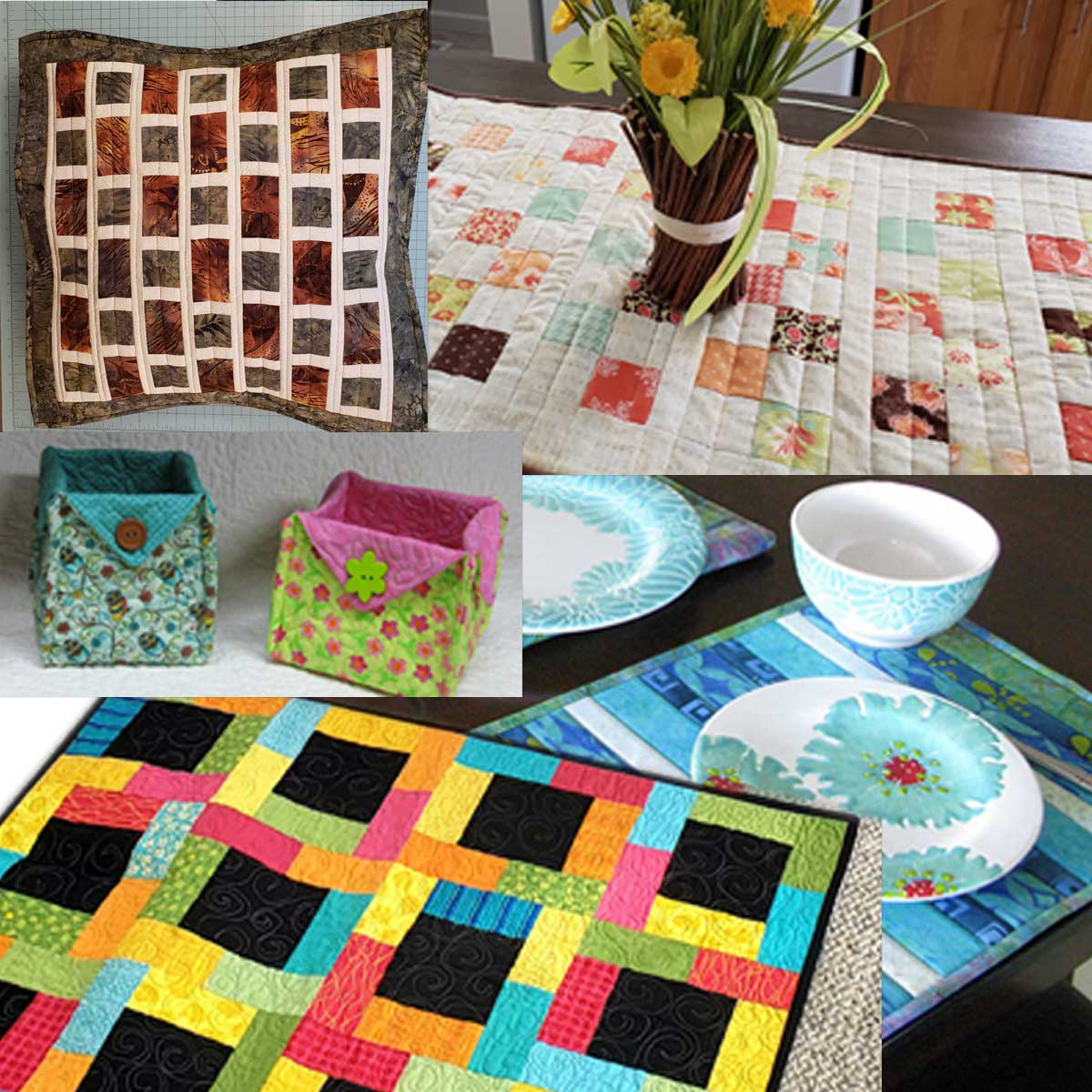 5 Fast & Easy Quilt Gifts