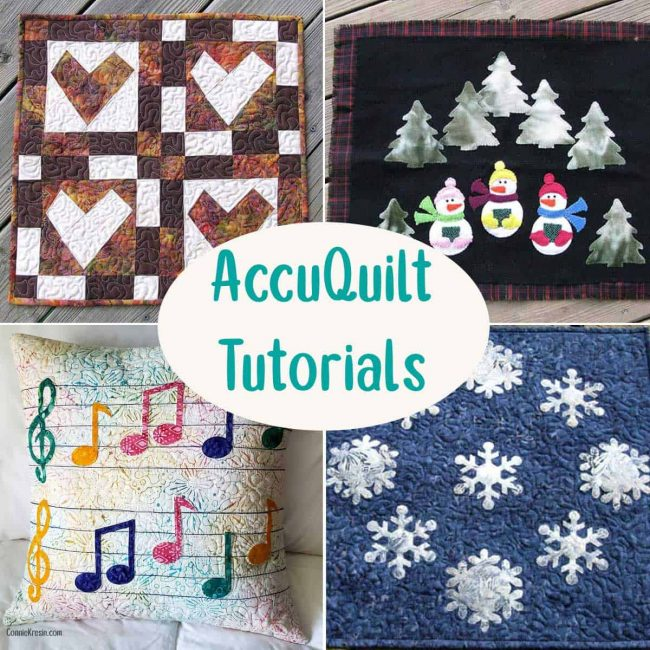 Accuquilt tutorials