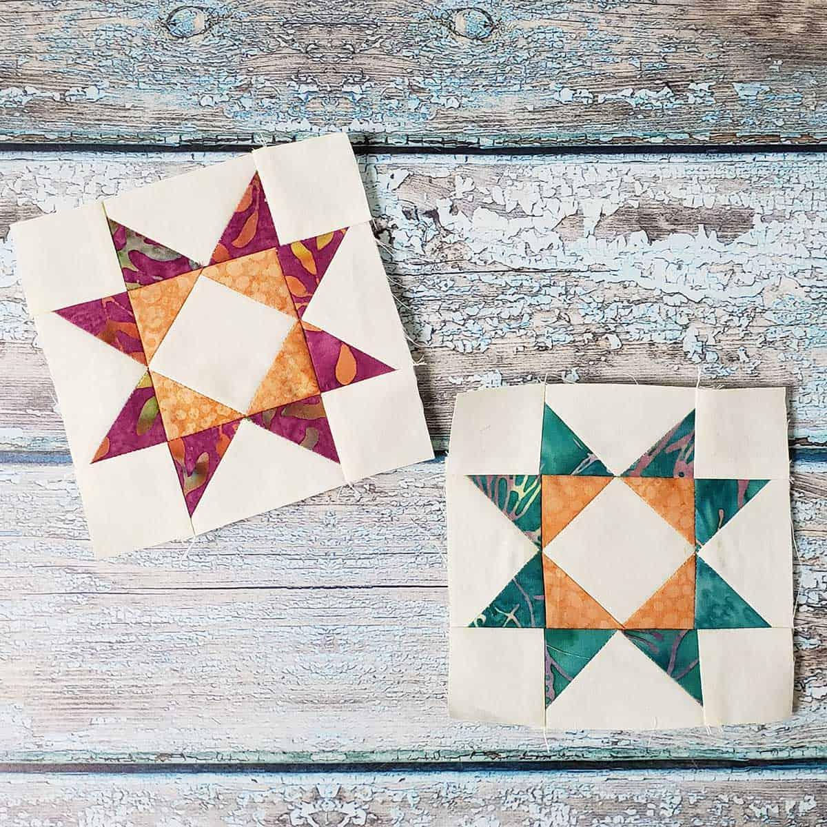 4-inch quilt blocks