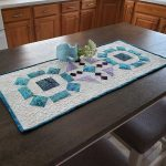 Board Game table runner on table