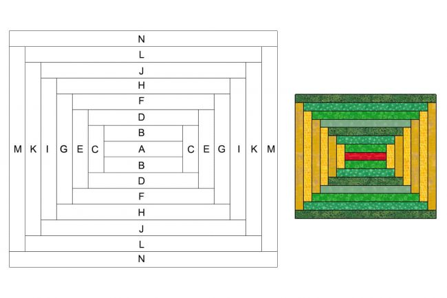 Diagram of placemat