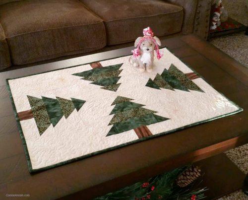 Christmas tree table runner resized bigger