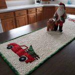 Christmas Truck table runner