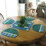 Country Table topper and placemats