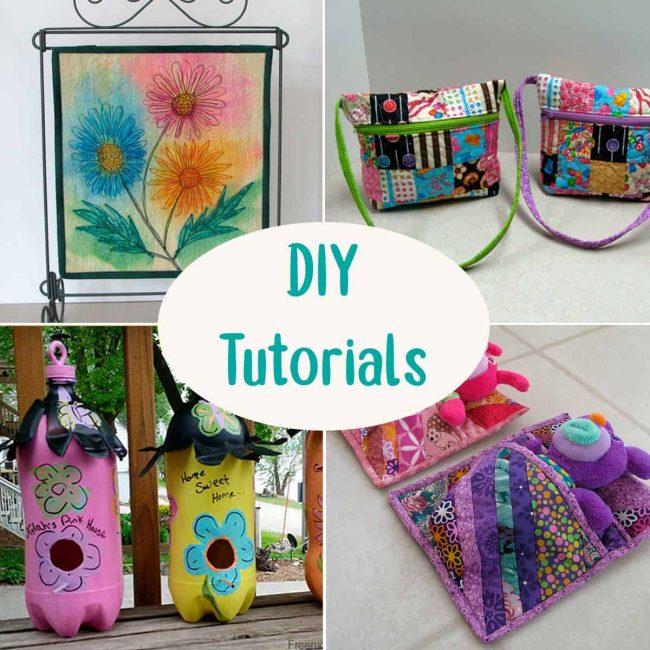 DIY do it yourself tutorials