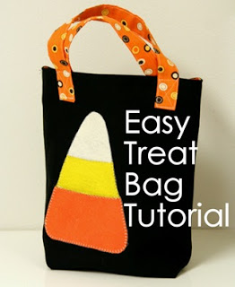 Easy halloween treat bag