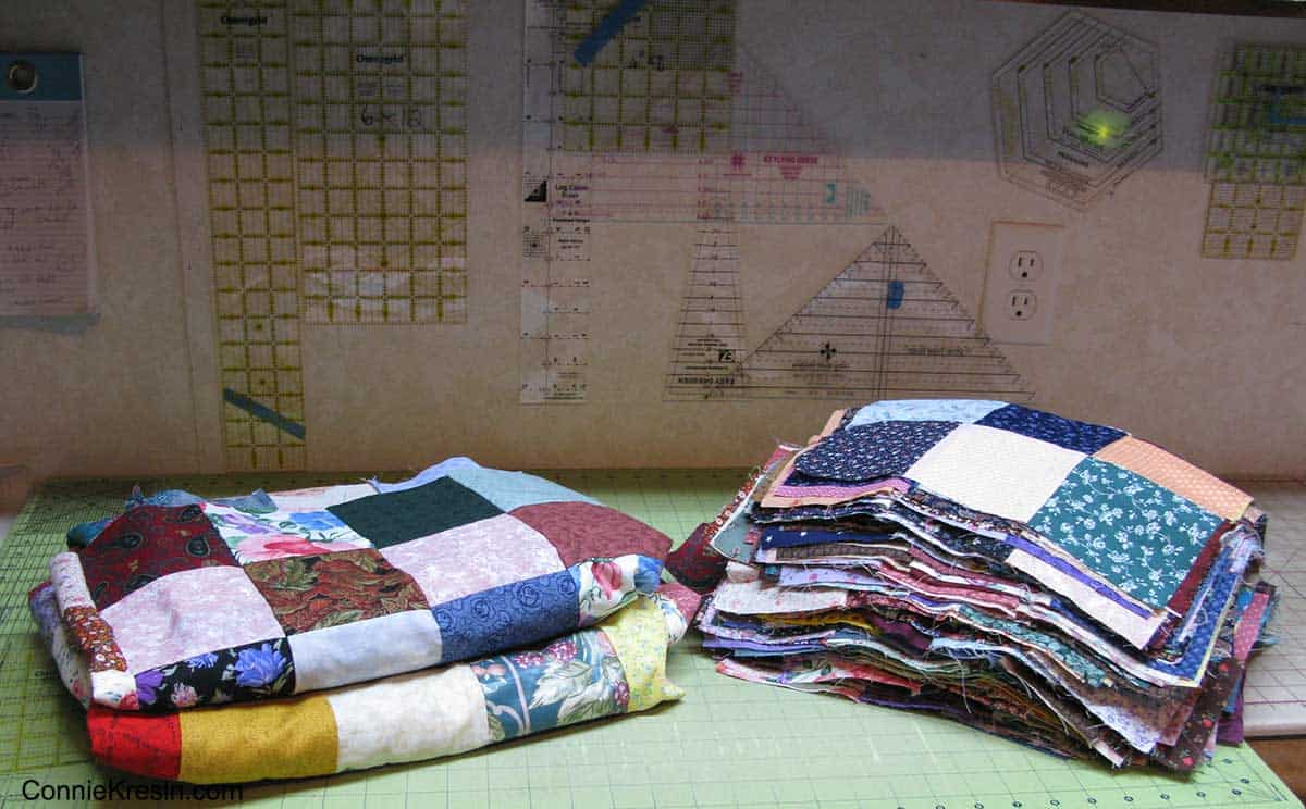 Making fast and easy scrappy quilts