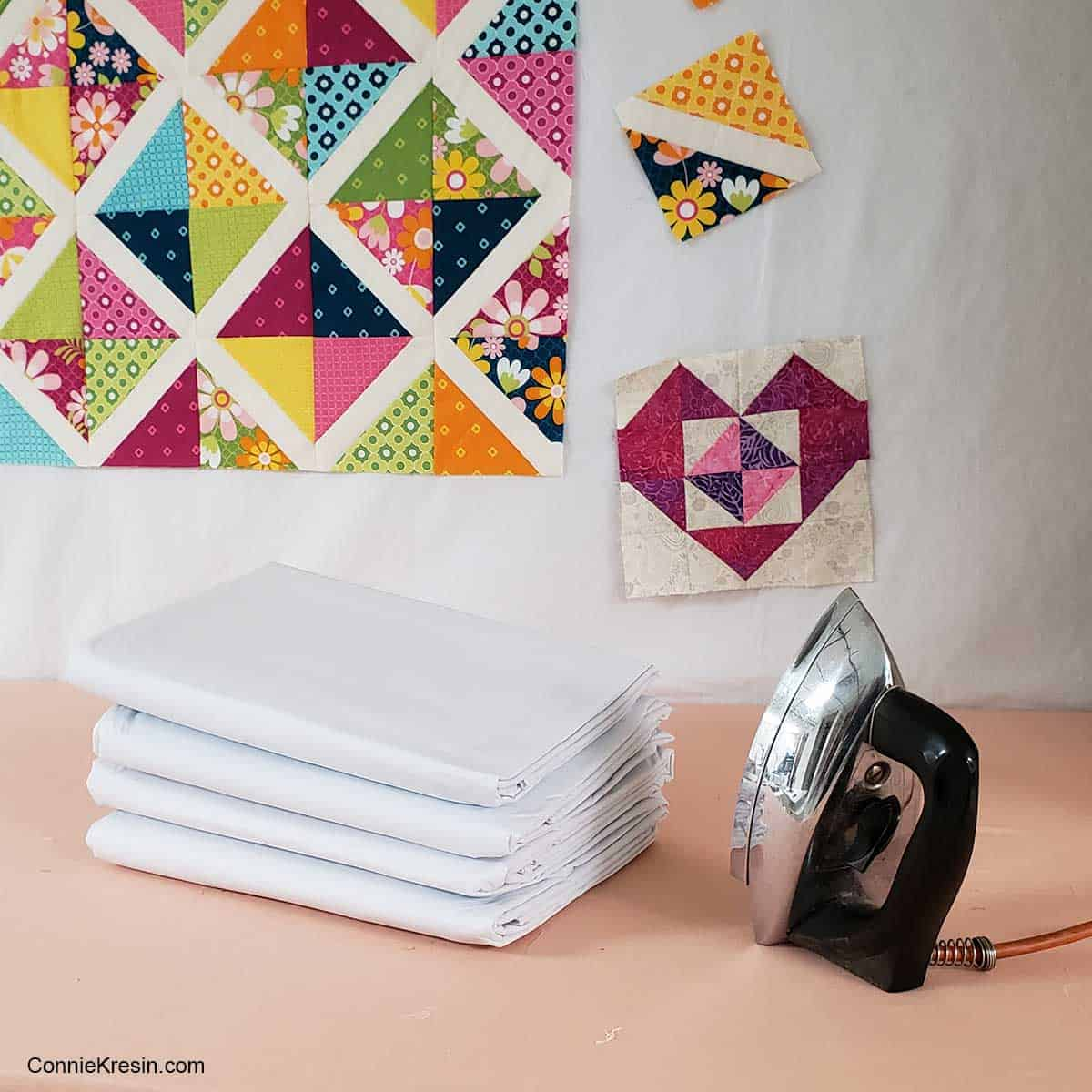 Flannel backed tablecloths for design walls