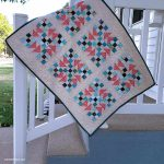 Flying Nines baby quilt tutorial