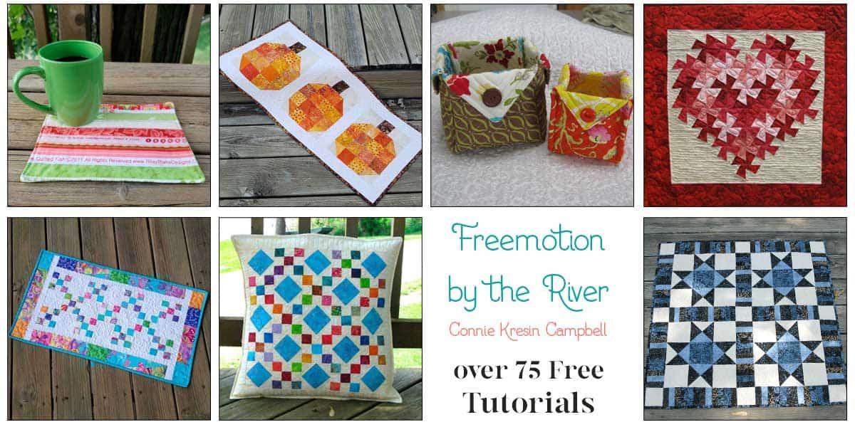 Over 75 free Quilt tutorials
