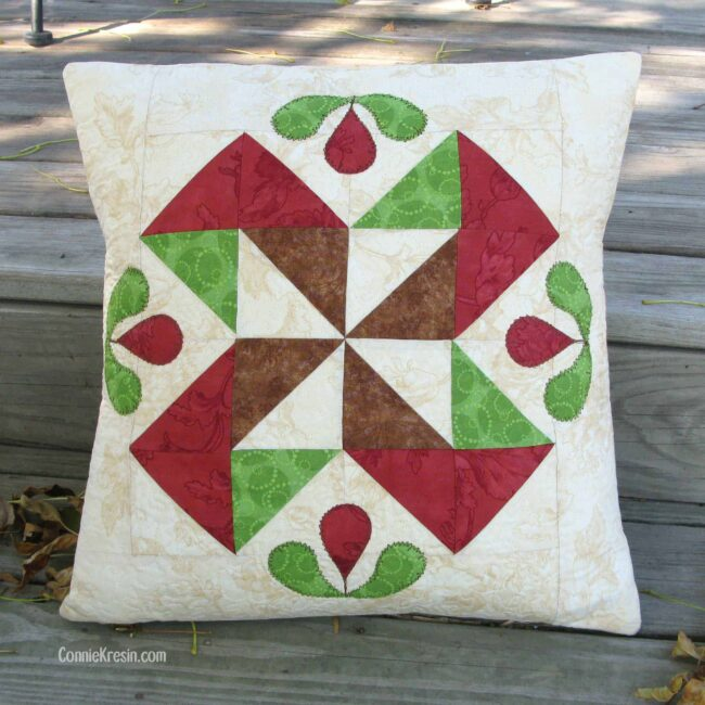 Pillows and AccuQuilt