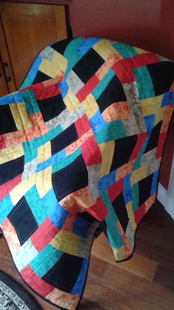Jeanette Midnight Glow quilt