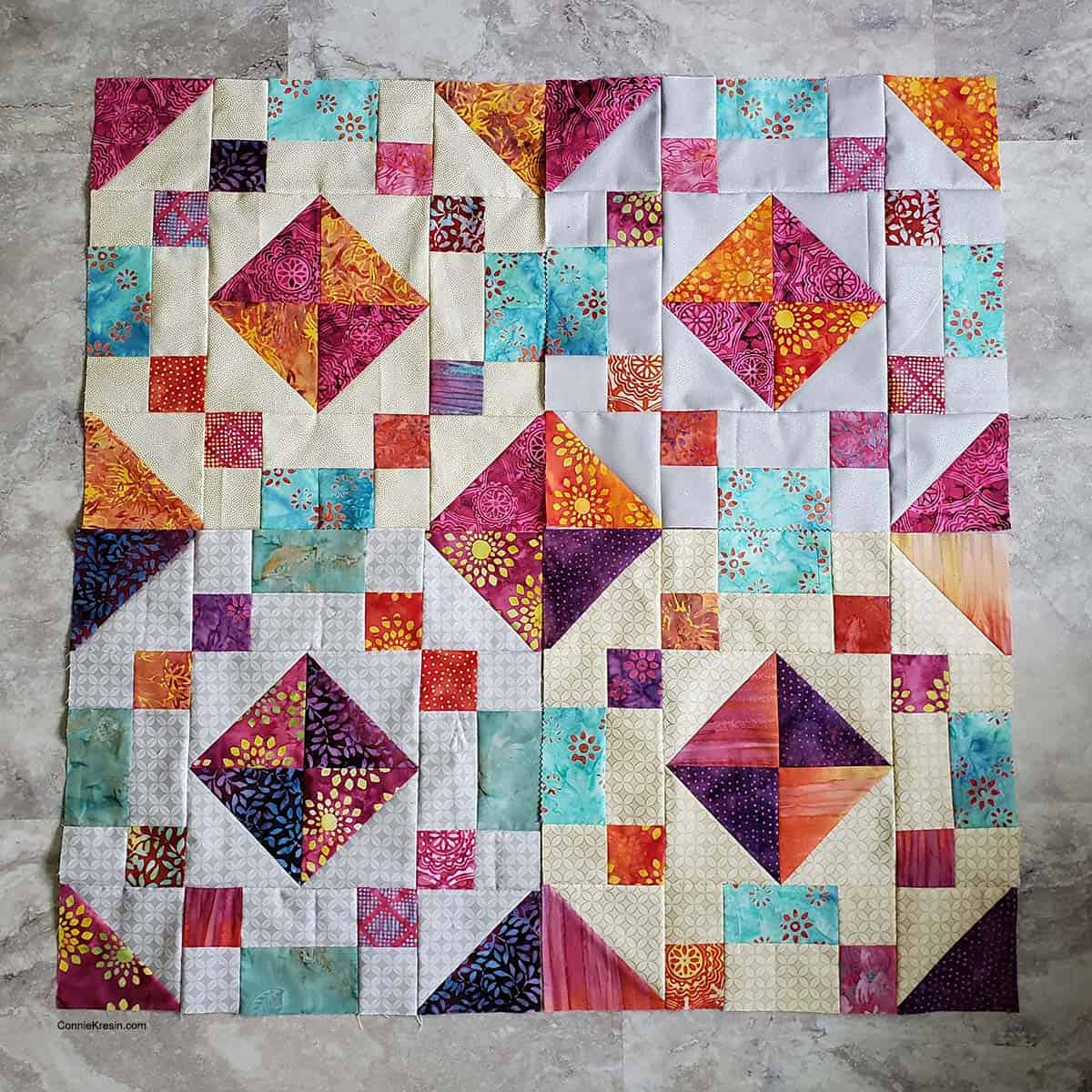 Jewel box blocks
