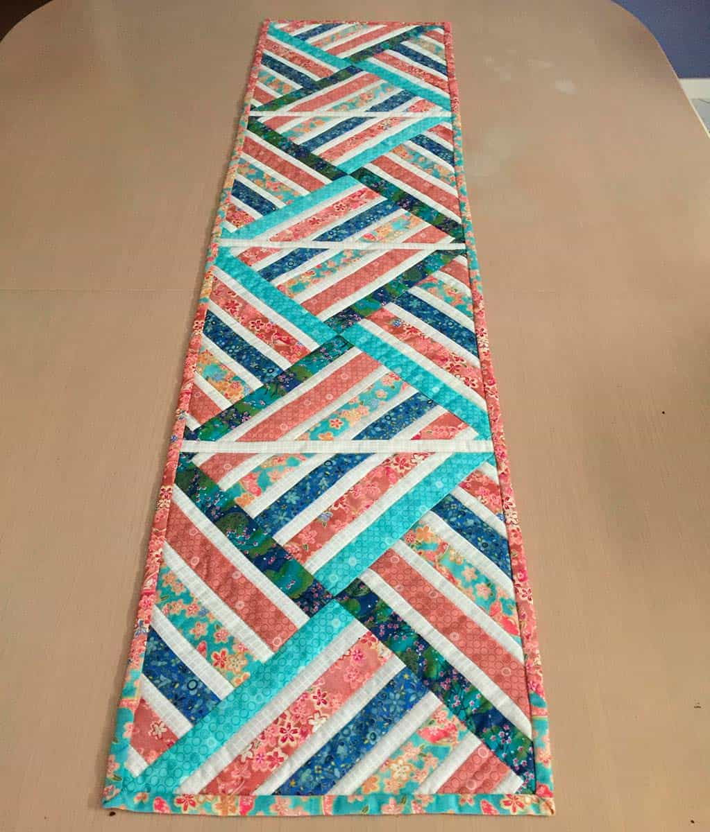 Jeweled table runner