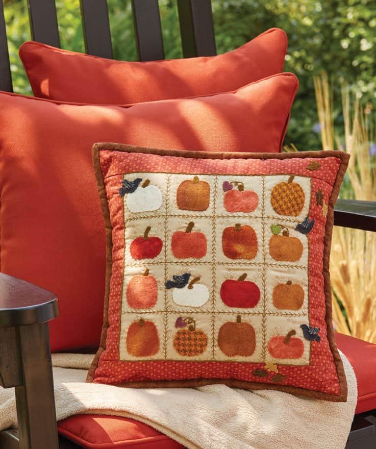 Little Pumpkins Pillow