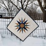 Mariner's Compass table topper