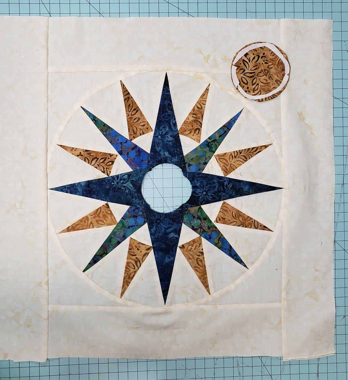 Adding a border to the quilt block