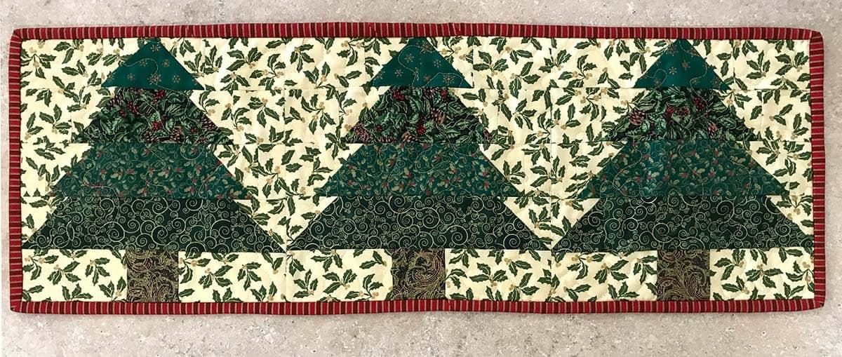 Christmas Tree tablerunner