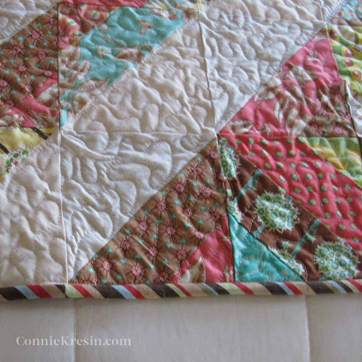 binding for quilt