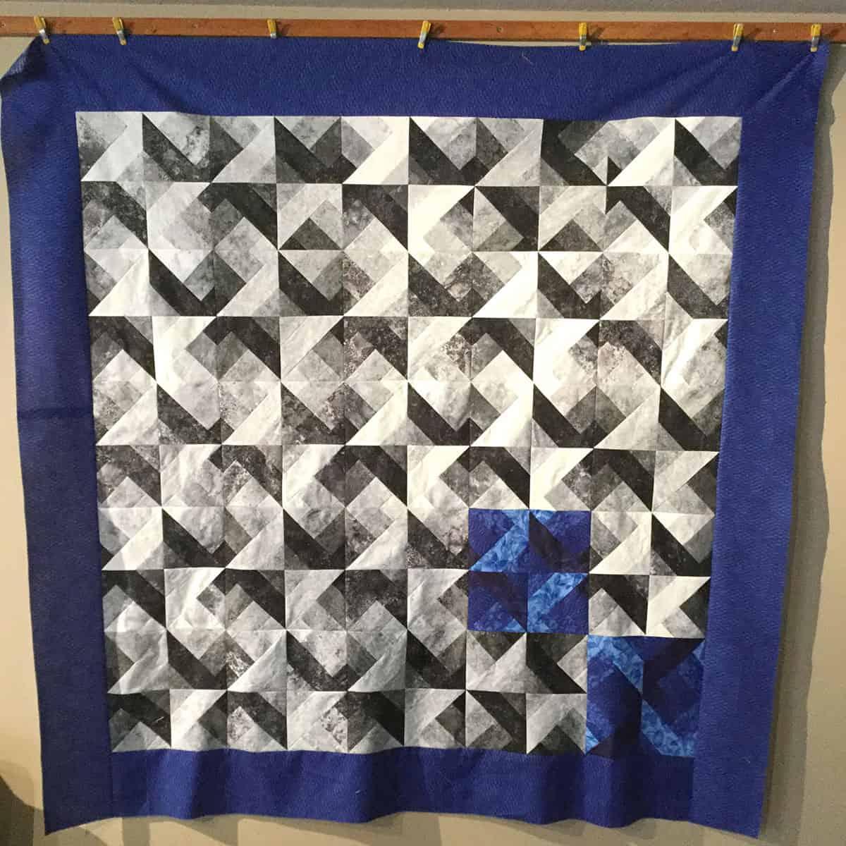 Hidden Wells quilt