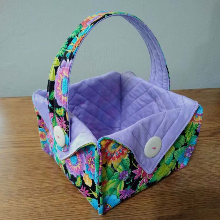 Fabric Basket with handle