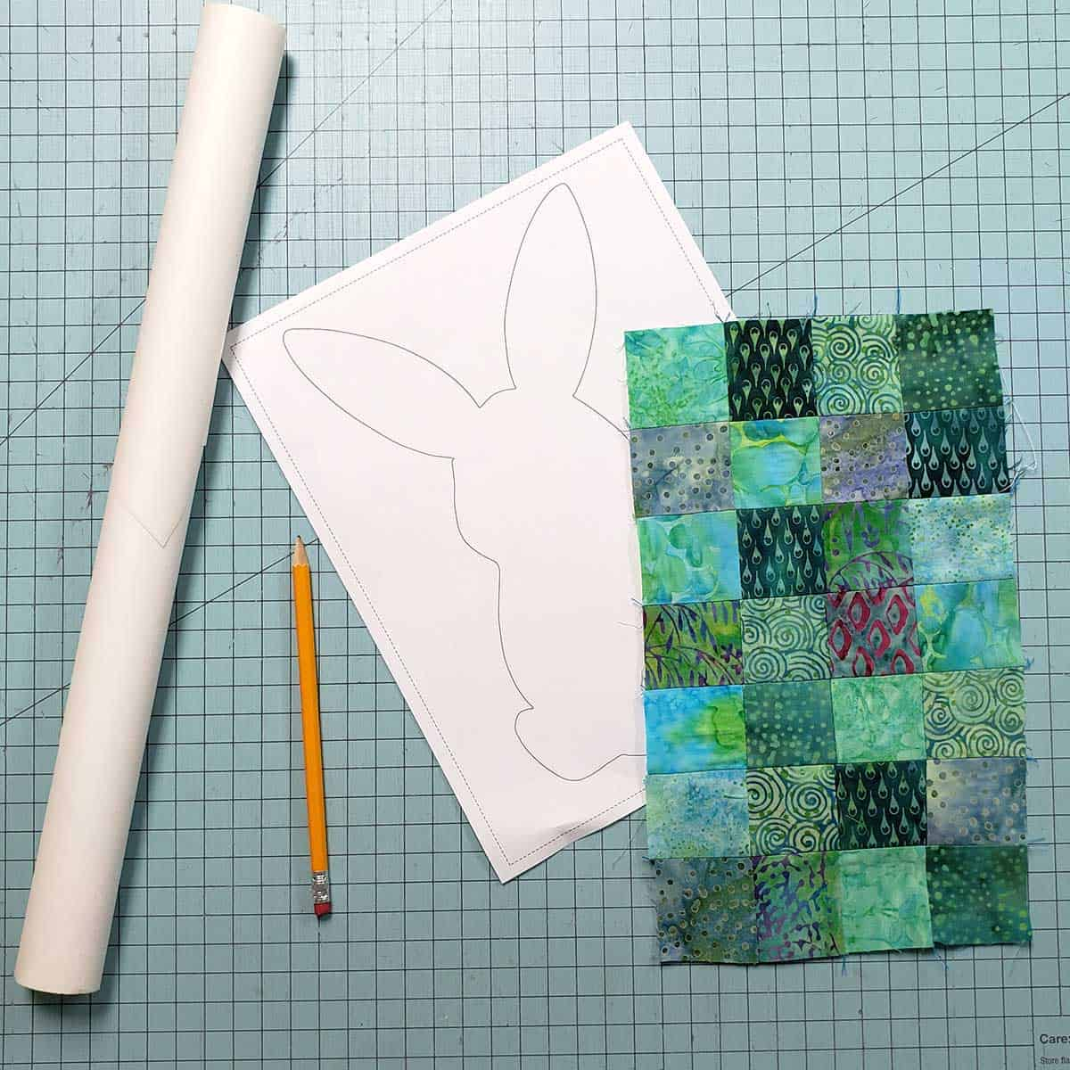 Making the patchwork squares