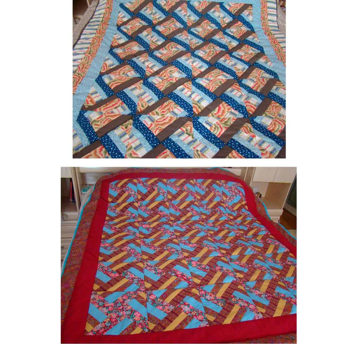 Hidden Wells quilts