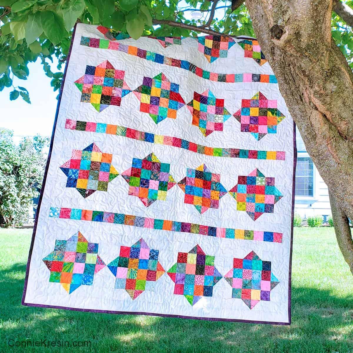 River Scraps quilt pattern