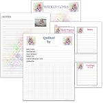 Scattered quilt printables