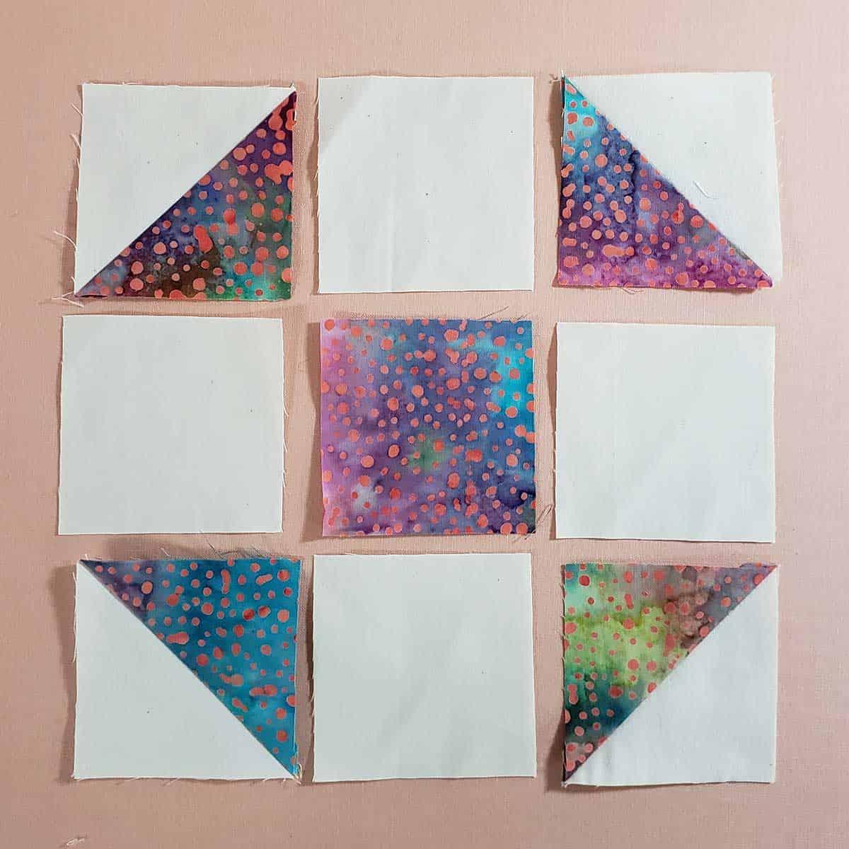Shoo Fly quilt block