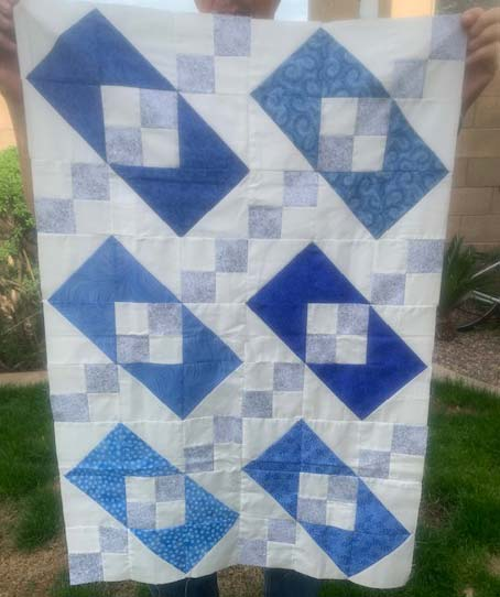 Susan shared her quilt