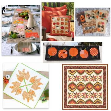 Thanksgiving quilt tutorials