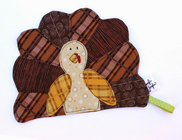 Thanksgiving Turkey Potholder