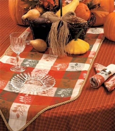 Thanksgiving table runner