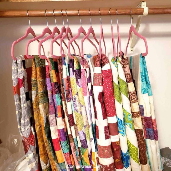 Unfinished quilts to share