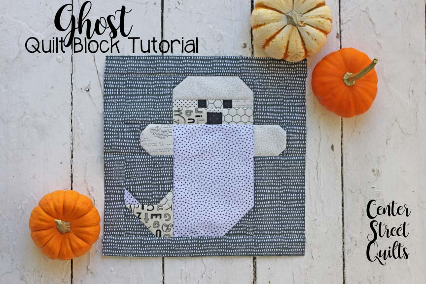 Ghost quilt block