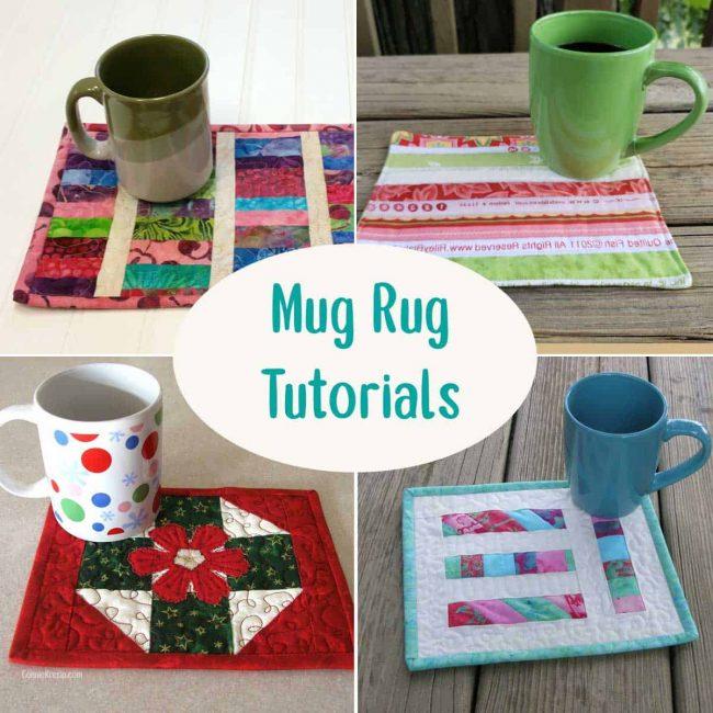 Mug Rug tutorials