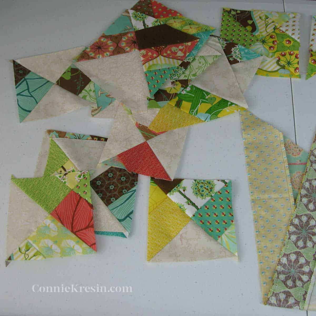 Strip tube quilt blocks