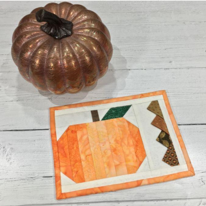 Pumpkin Mug Rug