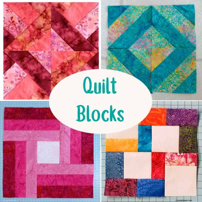 Quilt Block tutorials
