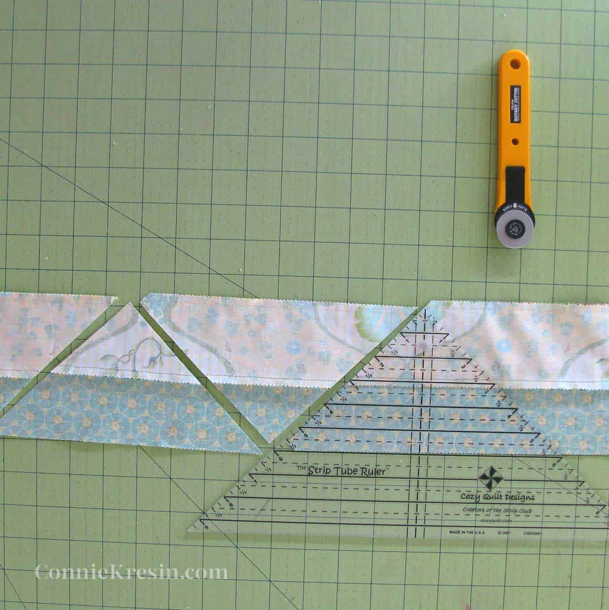 Cutting with the ruler