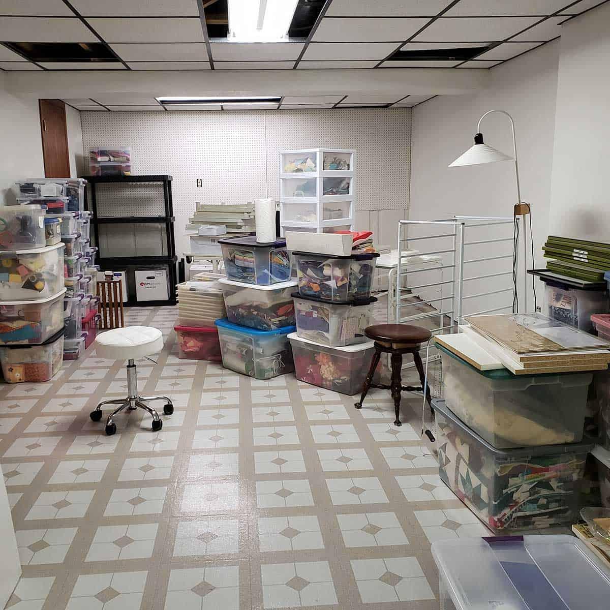 Moving into quilt studio