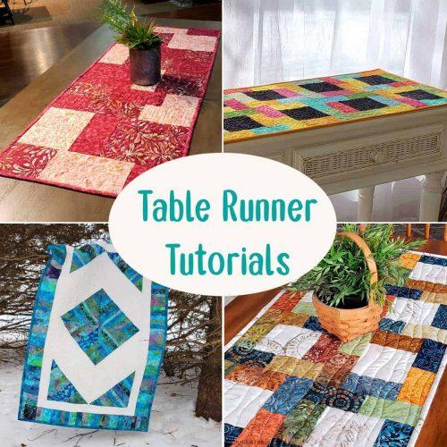 Table Runner tutorials
