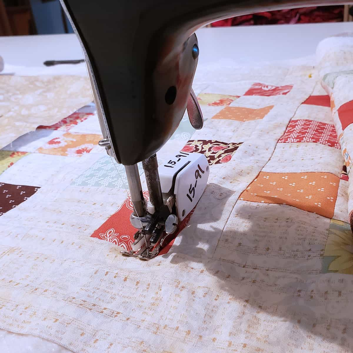 Using a walking foot on your sewing machine