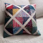 X Spot quilt pillow tutorial